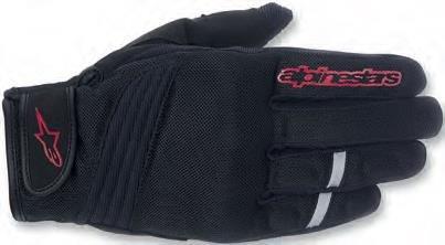 ALPINESTARS Asama Glove Textile Black/Red Medium