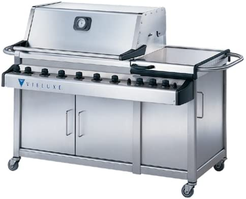Vieluxe 370201 56 Stainless Steel Propane Gas Grill