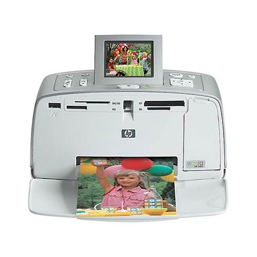 HP Photosmart 385 Compact Photo Printer (Q6387A#ABA) by HP
