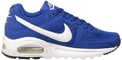 Nike Air Max Command Flex (Gs) - Zapatillas de running Niños Azul (Azule Jay/White/Black)