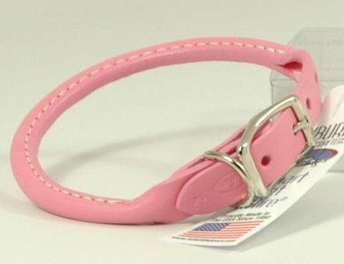 """Auburn Round Collar - Pink - 5/8""""x16"""" - Fits 13""""-16"""""""