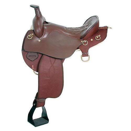 King Trekker Synthetic Endurance Saddle w/Horn Bro for sale  Delivered anywhere in USA