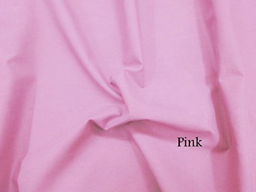 Material Pink - Ladyline Plain Lawn Cotton 2 Yards Cut Fabric Pink Solid Color Dyed Material from India