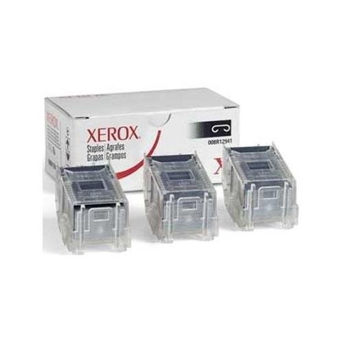 Xerox 008R12941 OEM Miscellaneous - Phaser 5500 5550 7760 WorkCentre 4150 4250 4260 7220 7225 MFP Staple Pack (3 x 5000 Yield) OEM