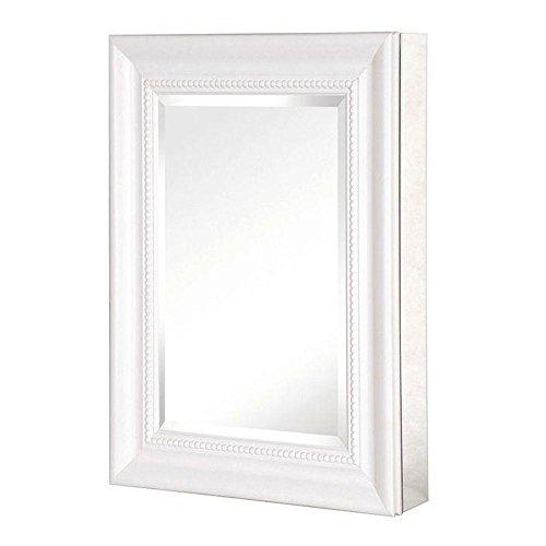 Pegasus SP4597 26-Inch Deco High Framed Medicine Cabinet, White
