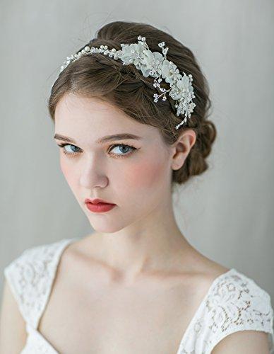Bridal Floral Veil - 6