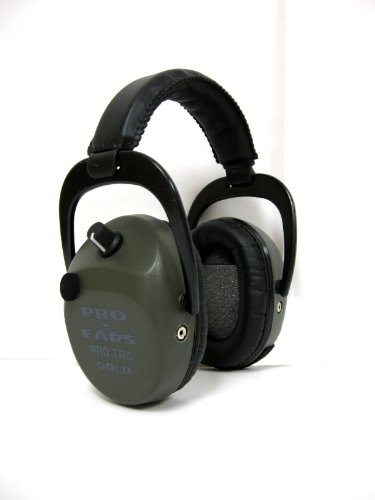 Pro Ears - Pro Tac SC Gold - Military Grade Hearing Protection and Amplification - NRR 25 - Ear Muffs - Green by Pro Ears