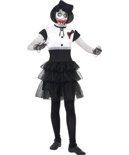 Smiffy's Living Dead Dolls Sanguis Costume, Black/White,