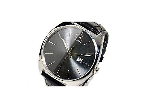 Calvin Klein Men's K2F21107 Exchange Analog Display Swiss Quartz Black Watch