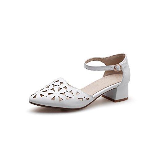 Blanc AdeeSu Sandales Femme AdeeSu Sandales Compensées Sandales Compensées Femme AdeeSu Blanc fvnPwq7gf