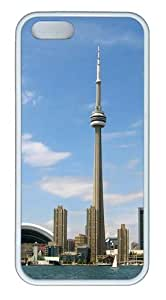 iPhone 5S Cases -Toronto From Water Custom PC Soft Case Protector for iPhone 5/5S White