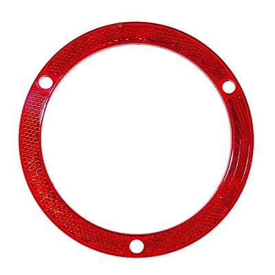 Kaper II L12-0179R Red Reflector: Automotive