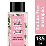 Love Beauty And Planet Murumuru Butter & Rose Shampoo, Blooming Color, 13.5 oz
