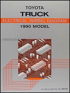1990 toyota pickup truck wiring diagram manual original toyota rh amazon com 1985 toyota truck wiring diagram 1980 toyota truck wiring diagram