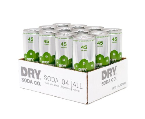 - Cucumber DRY Soda, 12 Ounce Cans (Pack of 12)