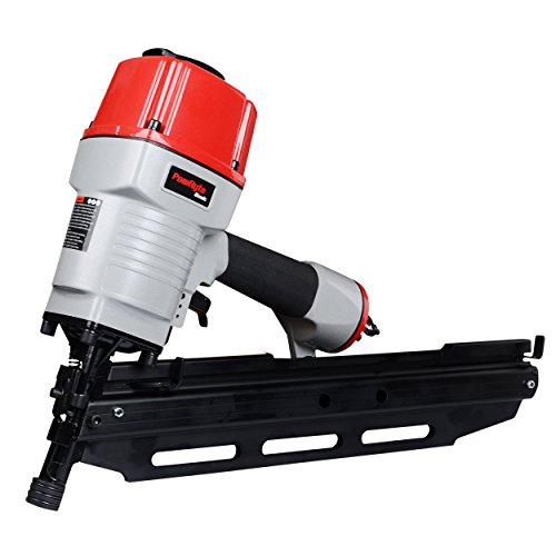PowRyte Basic 21° Round Head Air Framing Nailer - 2 inch to 3 1/2 inch by .113 to .148 Shank (Framing Nailer) Air Powered Nailers