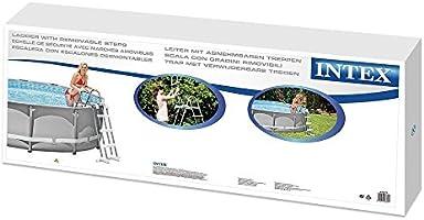 Intex Escalera para Piscina de 91 cm: Amazon.es: Juguetes y juegos