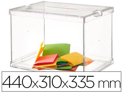 Archivo 2000 309210 - Plastic suggetions Box, Transparent