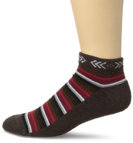 K. Bell Socks Men's Nordic Stripe Low Cut, Brown, Sock Size: 10-13/Shoe (Nordic Mens Socks)