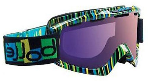 Bolle Nova Snow Goggles (Tiki Frame/Modulator Vermillon Blue), Outdoor Stuffs