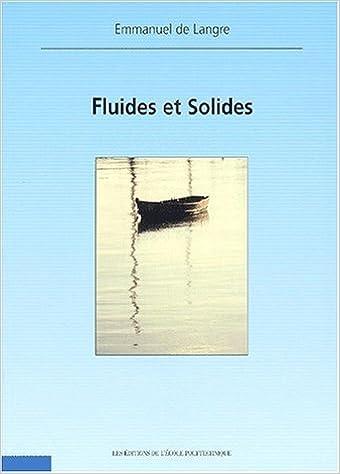 Livres Fluides et solides pdf, epub