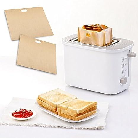 Vybig (TM0 tostadora Bolsas para sándwiches con Rejillas ...