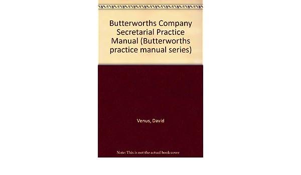 Hong kong company secretary's practice manual, 3rd edition.