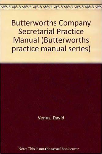 Company secretarial practice manual (2 volumes) ebc webstore.