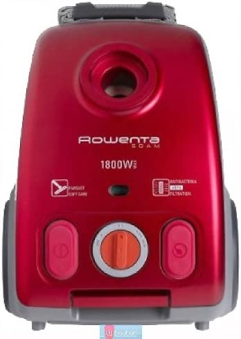 Rowenta SOAM RO 1243, 1700 W, Rojo - Aspirador: Amazon.es: Hogar