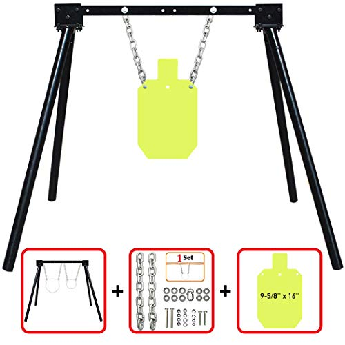 Highwild AR500 Steel Shooting Target System (Stand, Chain Set & 9-5/8
