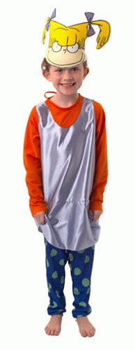 Click on Party Angelica of The Rugrats Costume Child Size S Small 4-6 -