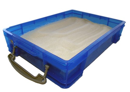 Small 4 Liter Portable Sand Tray with Lid (Small Sensory Table)