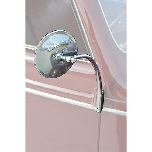 DENNIS CARPENTER FORD RESTORATION PARTS 1935-1952 HINGE PIN MIRROR W/CHROME HINGE (1950 Ford Parts)