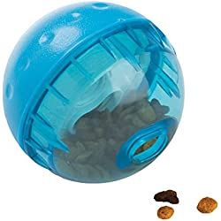 OurPets IQ Treat Ball Interactive Food Dispensing Dog Toy , Assorted Colors