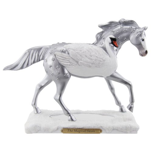 Trail of Painted Ponies Magical Swan Figurine, 6-3 4-Inch