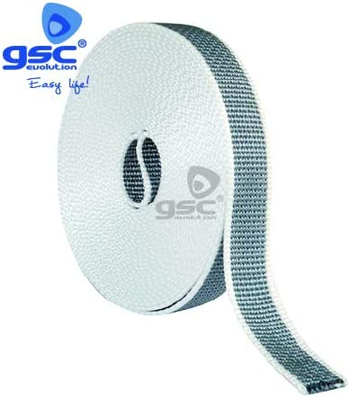 Cinta persiana reversible beige-gris 14mmx6M GSC 003301345