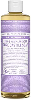 product image for Dr Bronners Castile Lavender Liquid Soap, 16 Ounce - 6 per case.