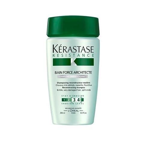 L'Oreal Kerastase Resistance Bain Force Architecte Shampoo, 8.5 Fluid Ounce by Rucci - Loreal Kerastase Resistance