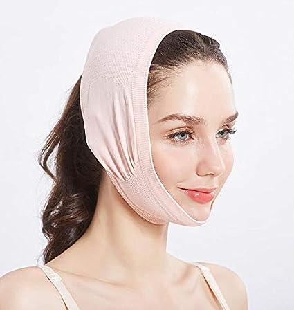 Beauty Neck M/áscara Face Lift Up e Reduce doble vendaje de la barbilla LadyBeauty V Shape Face LinFace Slimming Mask