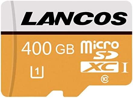 Tarjeta Micro SD de 128 GB/256 GB/400 GB de Alta Velocidad Clase 10, Tarjeta Micro SD SDXC con Adaptador. 400GB