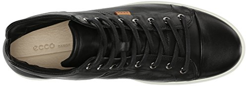 ECCO Damen Soft VII High-Top Fashion Sneaker Schwarz