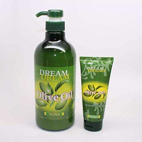 Dream Body Olive Oil 750ml + 100ml (Duo Set) by Omagazee