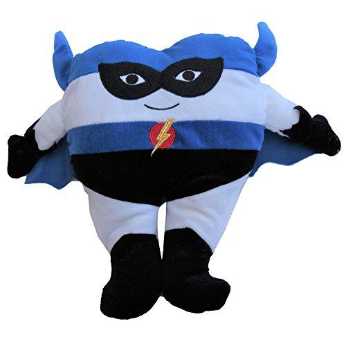 Snuggle Stuffs Boys Plush Superhero Tooth Fairy Pillow with Pocket, 12