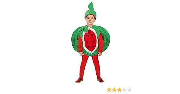 Disfraz de Sandia (Talla 4-6 a?os): Amazon.es: Juguetes y juegos