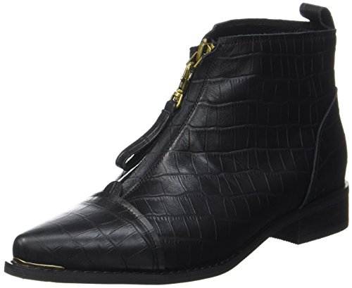 Women''s Metal Black Shoe 110 The 110 Bear Snake Boots Anna Black qwxExa01X