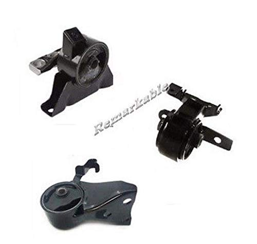 Remarkable Power G220 Engine Motor & Trans Mount Set 3 Fit For 99-03 Mazda Protege Auto Transmission