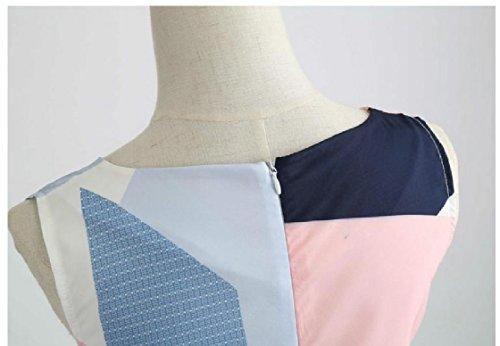 Coolred-femmes Vingtage Mignon Avec Robe Dos Fermeture Éclair Pinup Balle Robe De Soirée Comme Image
