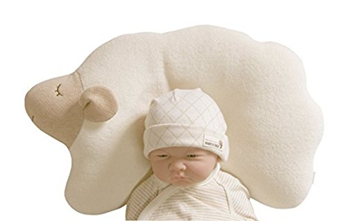Newborn Tree Frog Costume (memory foam Baby Protective Pillow - Cloud Lamb (Sheep))