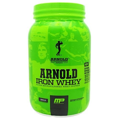 Arnold By Musclepharm Arnold By Musclepharm Iron Whey, Vanilla, 2 lb
