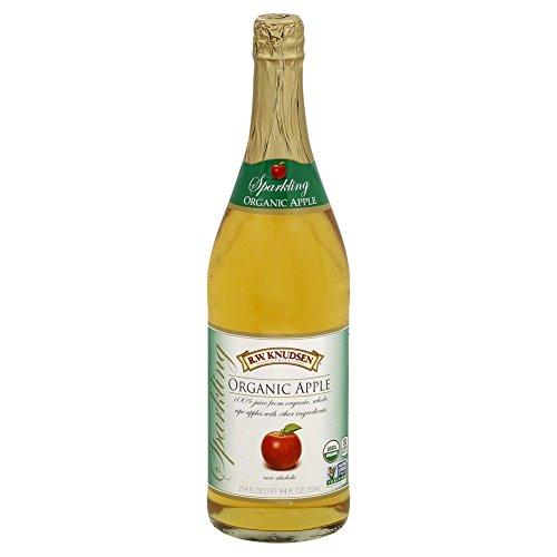 Organic Sparkling Apple - Knudsen Sparkling Juice, Apple, 750 ml